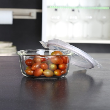 LOCK AND LOCK Boroseal Heat Resistant Oven Round Glass-650 ml