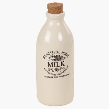 Beautiful Home Milk Jar