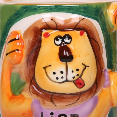 Lion King Dolomite Mug