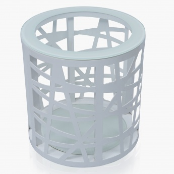 Maze Round End Table