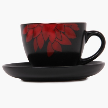 Dahlia Cup And Saucer