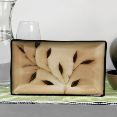 Petunia Rectangular Tray