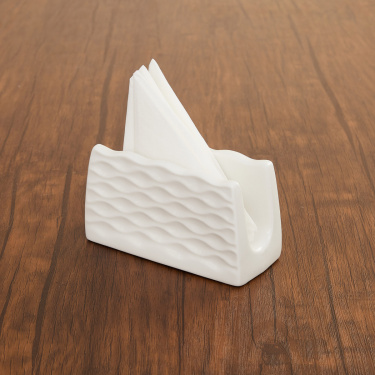 Brook Ceramic Napkin Holder