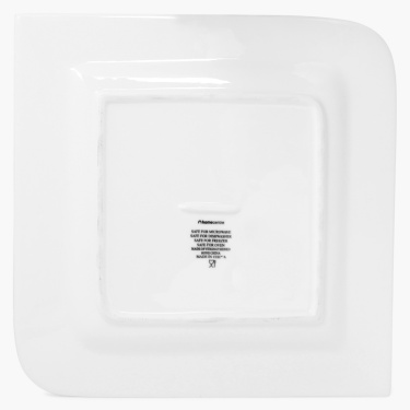 Alamode Bone China Square Dinner Plate