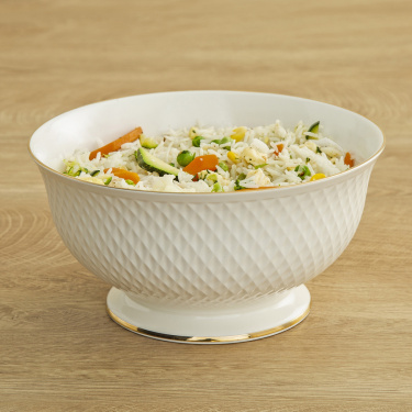 Divine Ceramic Salad Bowl