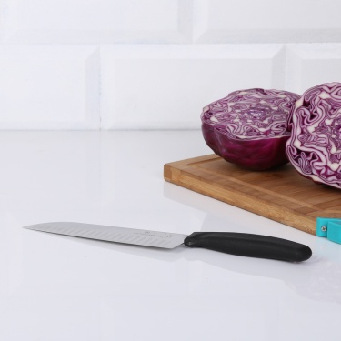 VICTORINOX Santoku Fluted Edge Knife