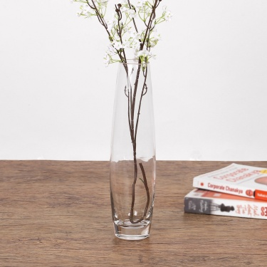 Tall Glass Vase