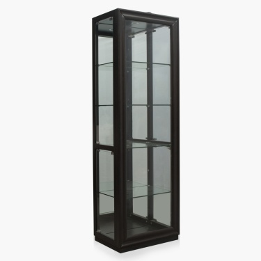 Brad Tempered Glass Curio
