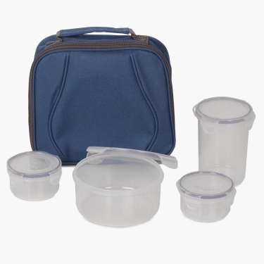 Korobka Lunch Box With Bag-Set Of 5