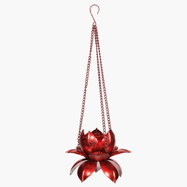 Majestic Hanging Lotus Tealight Holder