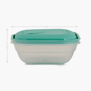 Melina Teal Container Set-4 Pieces