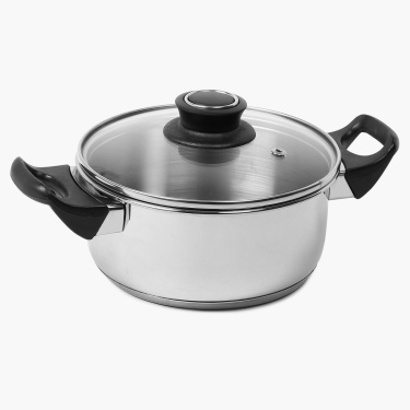 Georgia Stainless Steel Cookware Set- 4 Pcs.