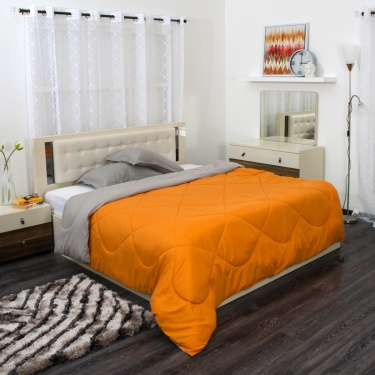 Urbane Single Bed Reversible Comforter