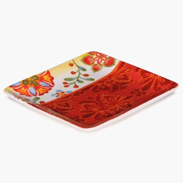 Carolina Ceramic Printed Appetizer Plate - 6 Inch