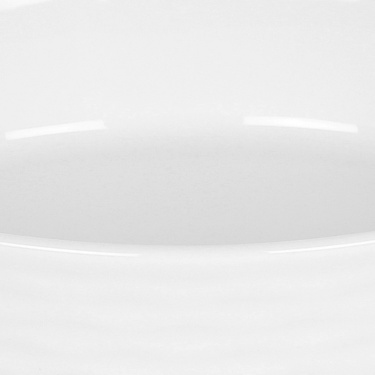 Brook Ceramic Oval Serving Plate - 7.8 Inch