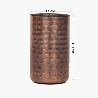 Adrian Lassly Stainless Steel Antique Finish Tumbler