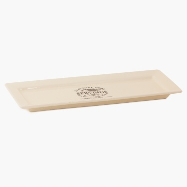 Beautiful Home Rectangular Platter - 12 Inch
