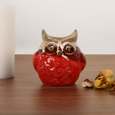 Cypress Adah Owl Ceramic Oil Burner