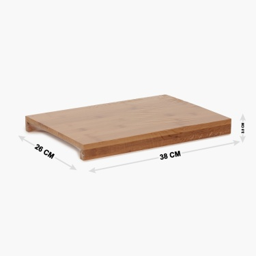 Edulis Bamboo Cutting Board With Tray