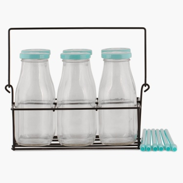Peroni Milk Bottles- Set Of 7 - 300 ml