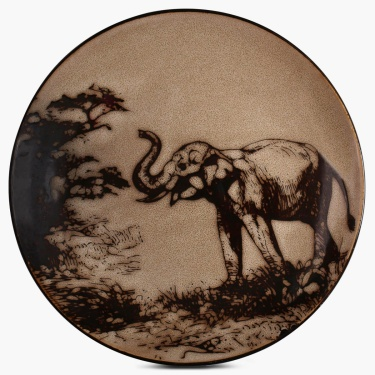 Imperial Elephant Dinner Plate-10.5 Inch