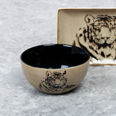 Imperial Tiger Cereal Bowl