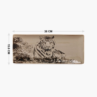 Imperial Tiger Rectangular Platter