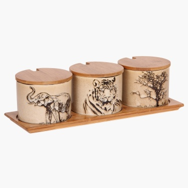 Imperial Elephant Condiment Set