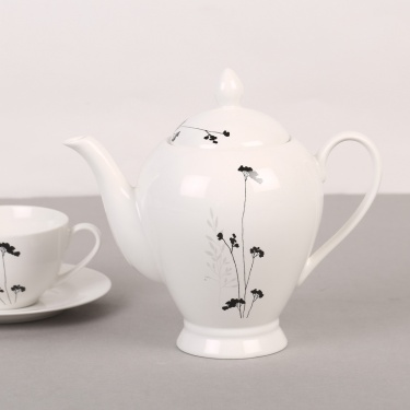Elite Ceramic Tea Pot - 1.1 litre