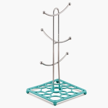 Sarina Chromeware Mug Tree