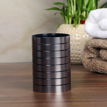 Hudson Emery Polyresin Tumbler With Brush