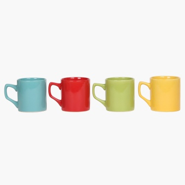 Multi-Colour Small Cup Set- 4 Pcs.