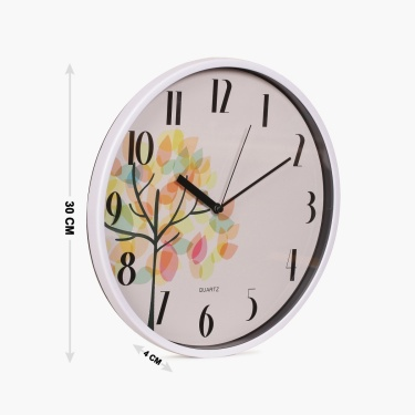 Casablanca Printed Wall Clock