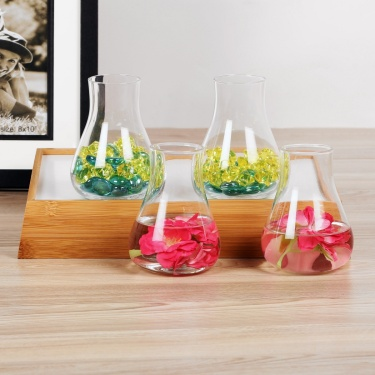 Earl Clear Vase- Set Of 4