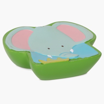 City Goes Wild Elephant Swag Soap Dish