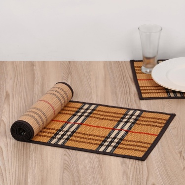 Bamboo Woven Table Runner