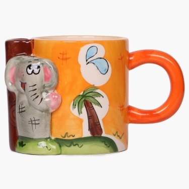 City Goes Wild Elephant Rush Mug