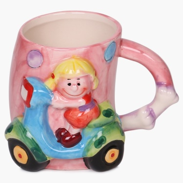 Fabulous 3 Scooty Girl Mug