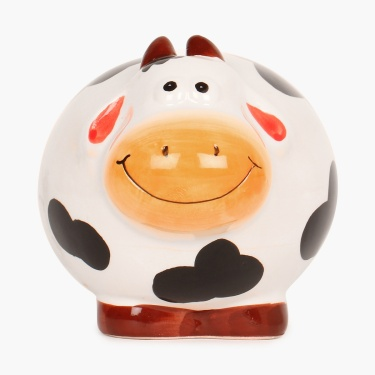 City Goes Wild Dolomite Cow Money Bank