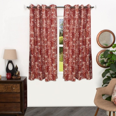 Matrix Abode Jacquard Window Curtain - 135 X 160 CM