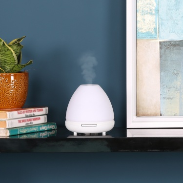 Round Aroma Diffuser With Light