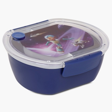 Adventure of U-tron Space Oval Lunch Box