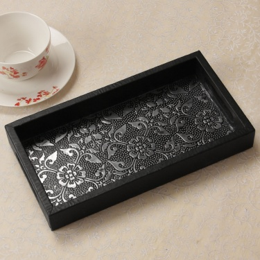 Oakland Tendril Inlay Serving Tray