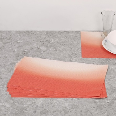 Topaz Woven Printed Placemat- Set Of 6