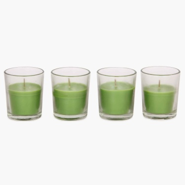 Redolance Shot Glass Votive Candle- Set Of 4 - 6 CM