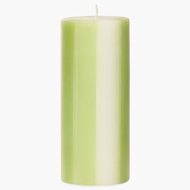 Redolance Three Tone Pillar Candle - 15 CM