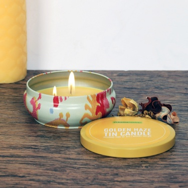 Redolance Golden Haze Tin Candle - 11 CM