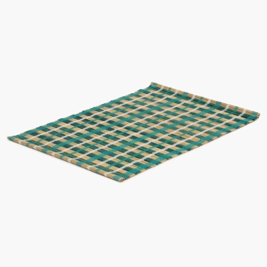Topaz Straw Woven Placemat