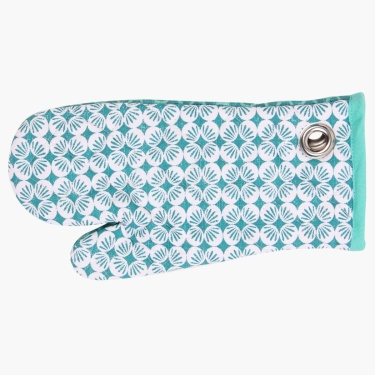 Coastal Living Printed Oven Mitten-Set Of 2