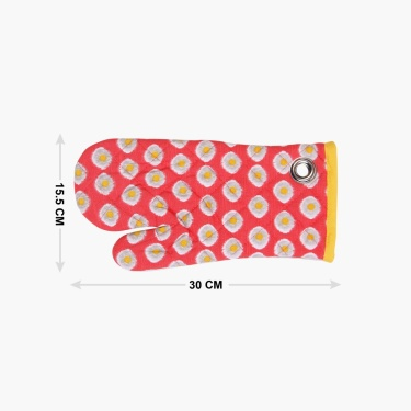 Remaster Printed Oven Mitten- Set Of 2